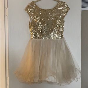 Tulle and Sequin Party Dress